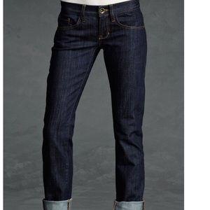 CAbi Jeans Brando Dark Wash Straight Leg Style#175